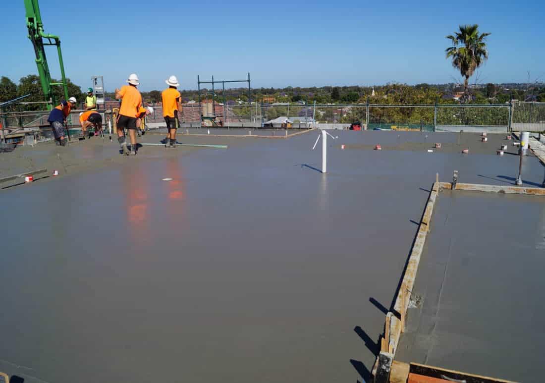 concrete foundations Austin