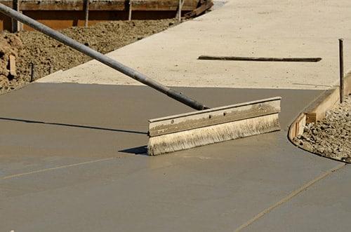 concrete sidewalk contractor Austin, TX